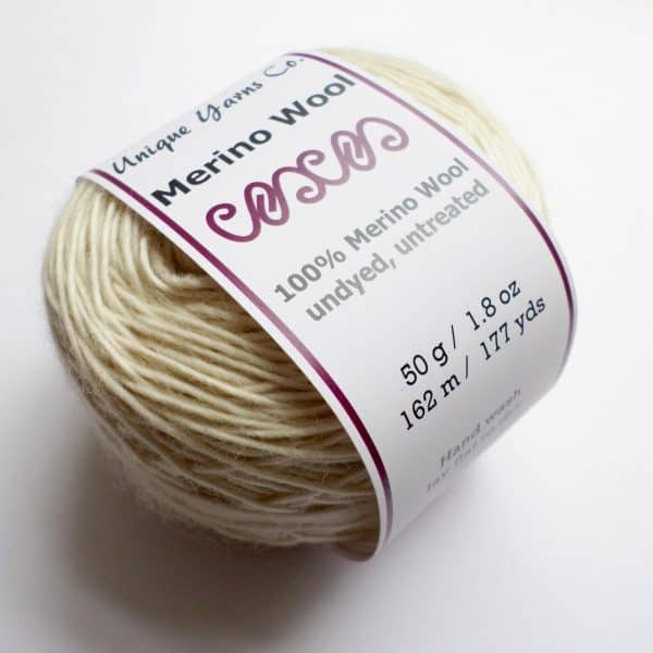 Undyed 100% Merino Wool