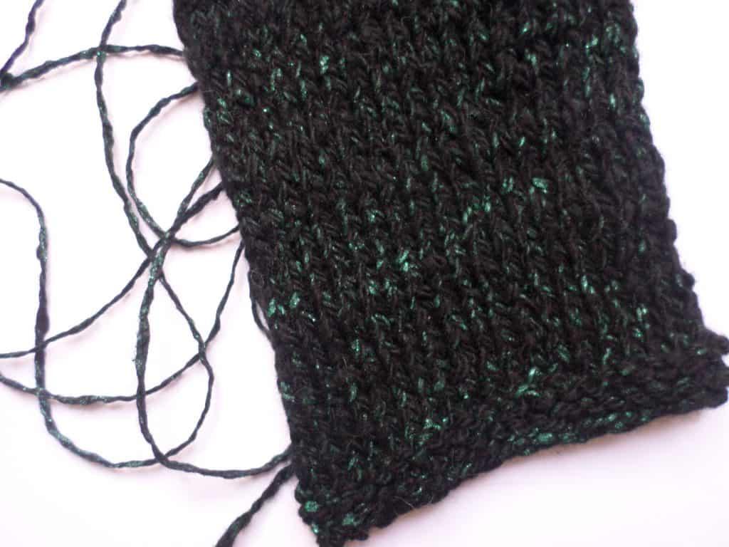 Green Sparkling Yarn