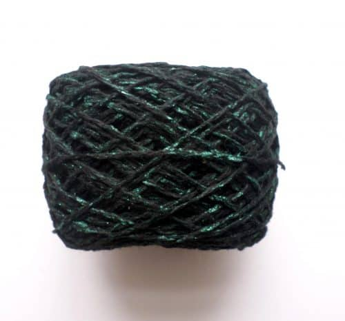 Green Sparkling Yarn