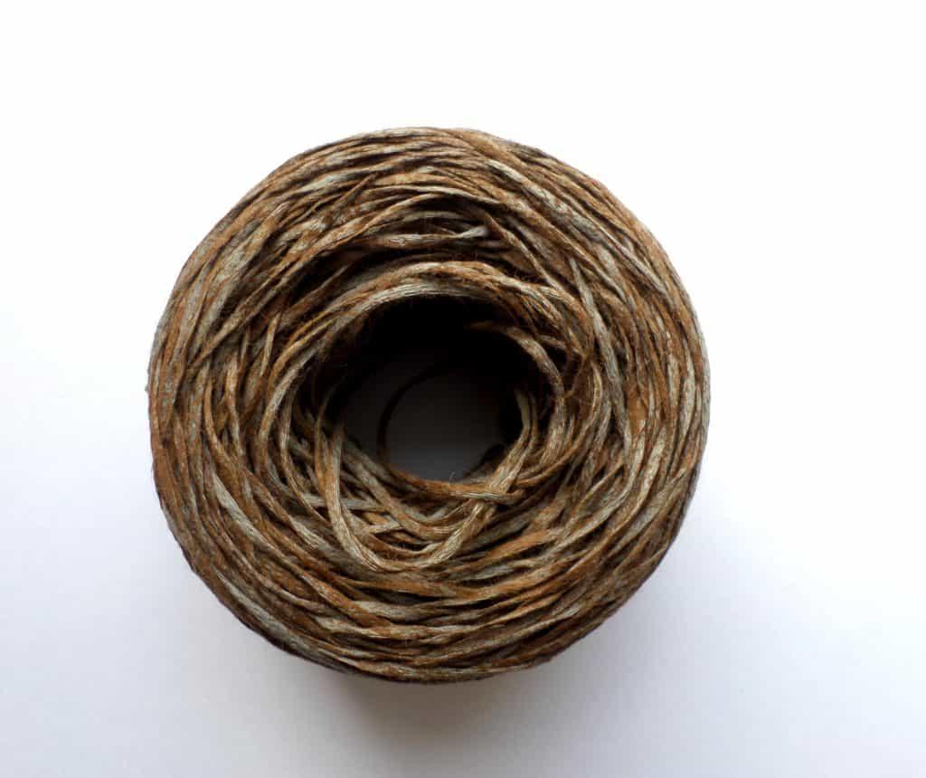 Leather-like Cotton Yarn