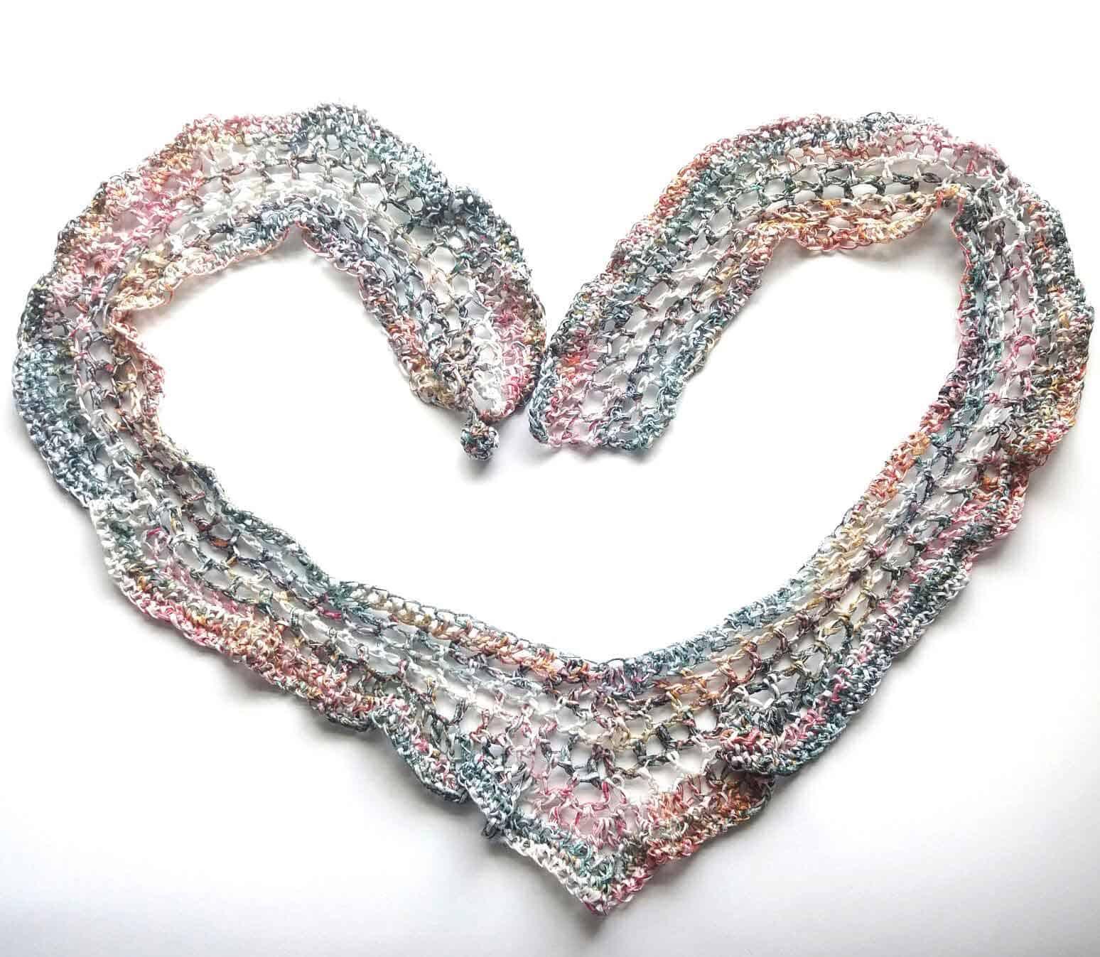 Heart-shawl