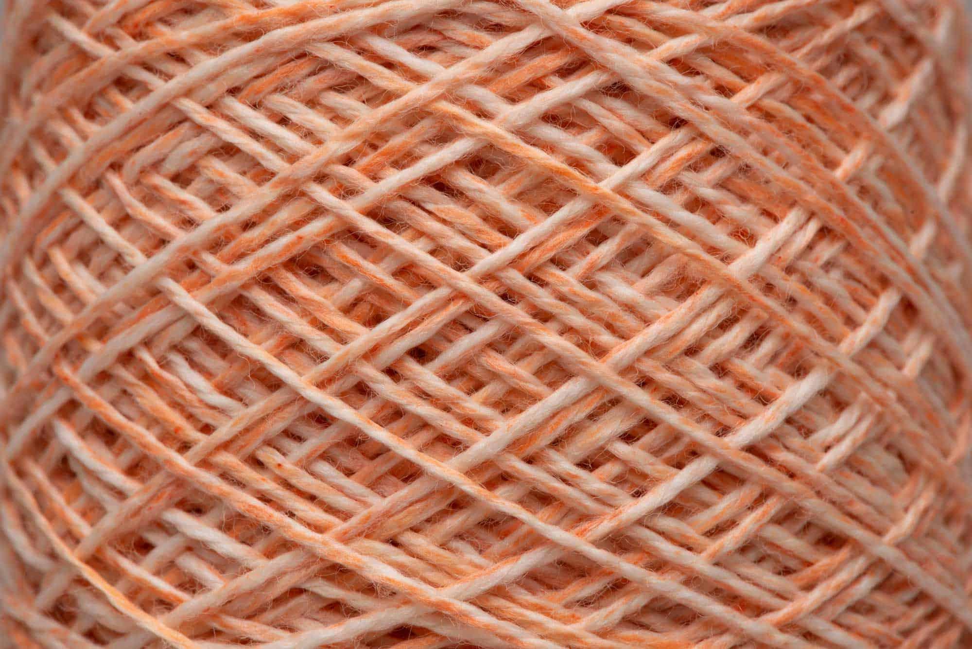 Ercolano Orange-dyed 100% Merino Wool