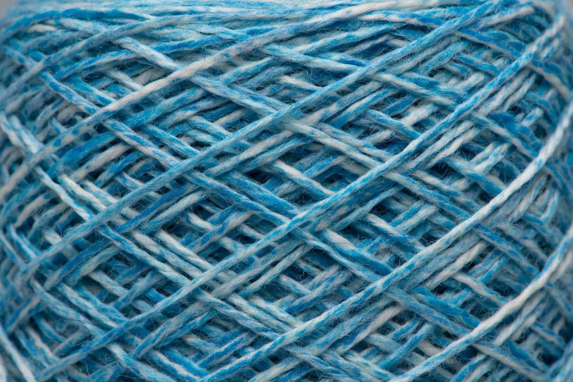Lapis Lazuli-dyed 100% Merino Wool