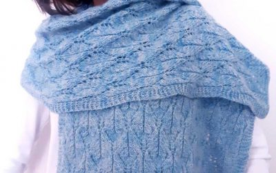 Leaves-Me-Not Shawl