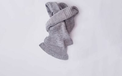 Simple Textured Scarf